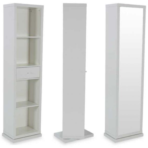 Attractive SWIVEL CABINET WITH MIRROR