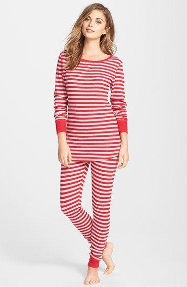 nordstrom sleepyhead thermal pajamas fun pjs for christmas morningcozy and cute - Nordstrom Christmas Pajamas