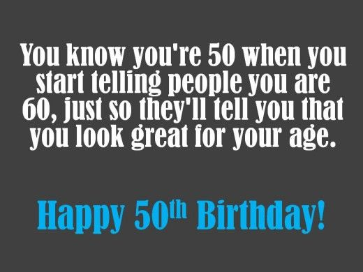 Funny 50th Birthday Wishes Sayings And Jokes