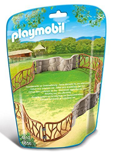 Playmobil Zoo Enclosure Building Kit Playmobil Https Www Amazon
