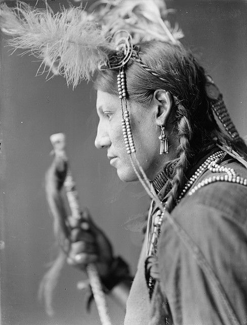 1890s Photo Native American Sioux Indian Chief American Horse