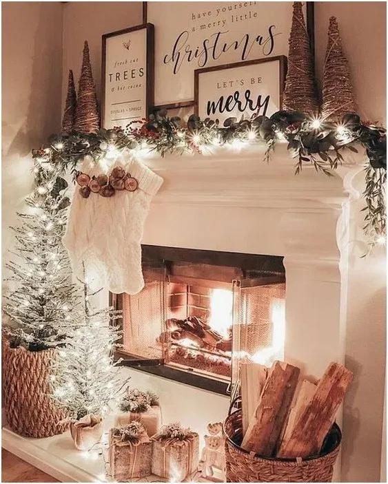 10 Farmhouse Christmas Decor Ideas That Are Simple And Cheap #decofuture