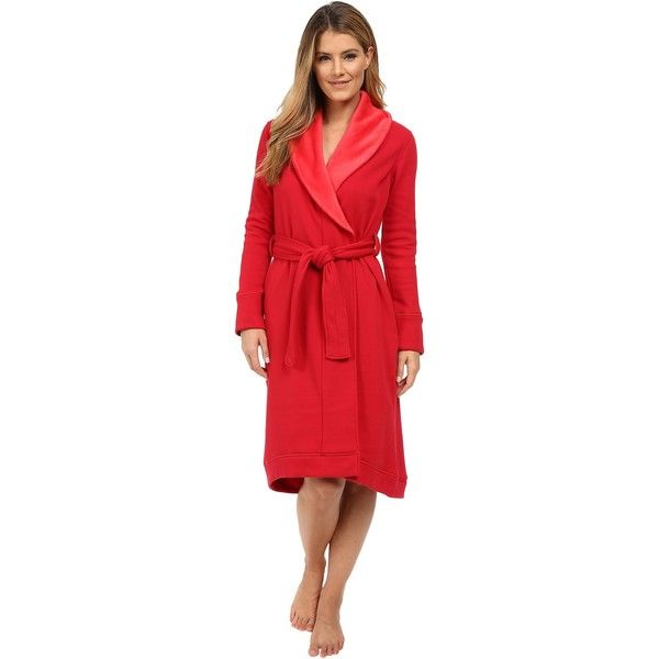 UGG Duffield Robe (Scarlett) Women s Robe ( 63) ❤ liked on Polyvore  featuring intimates 6d95d04e8