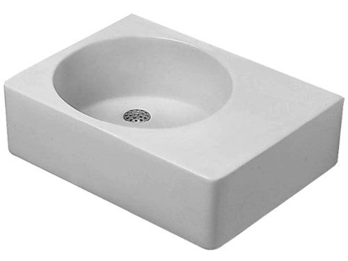 """For the built-in self solution: Duravit 06846000111 24 1/4"""" Washbasin W/ Overflow & Bowl On Left Side - Bathroom Sinks - Amazon.com"""