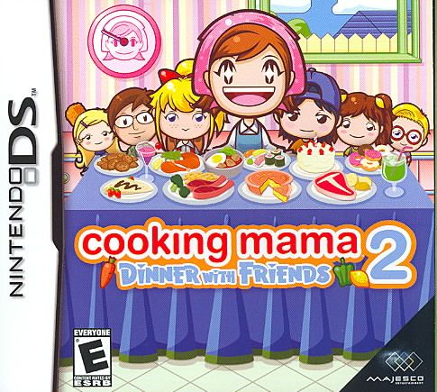 Majesco Nintendo Ds Cooking Mama 2 Dinner With Friends