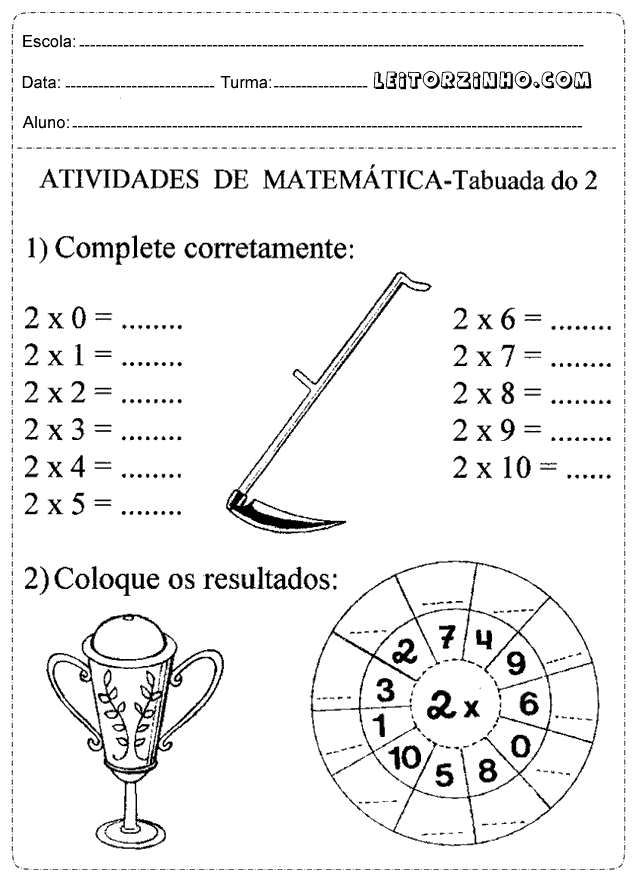 Atividades Reforço Matemática 4o Ano Pesquisa Google ус