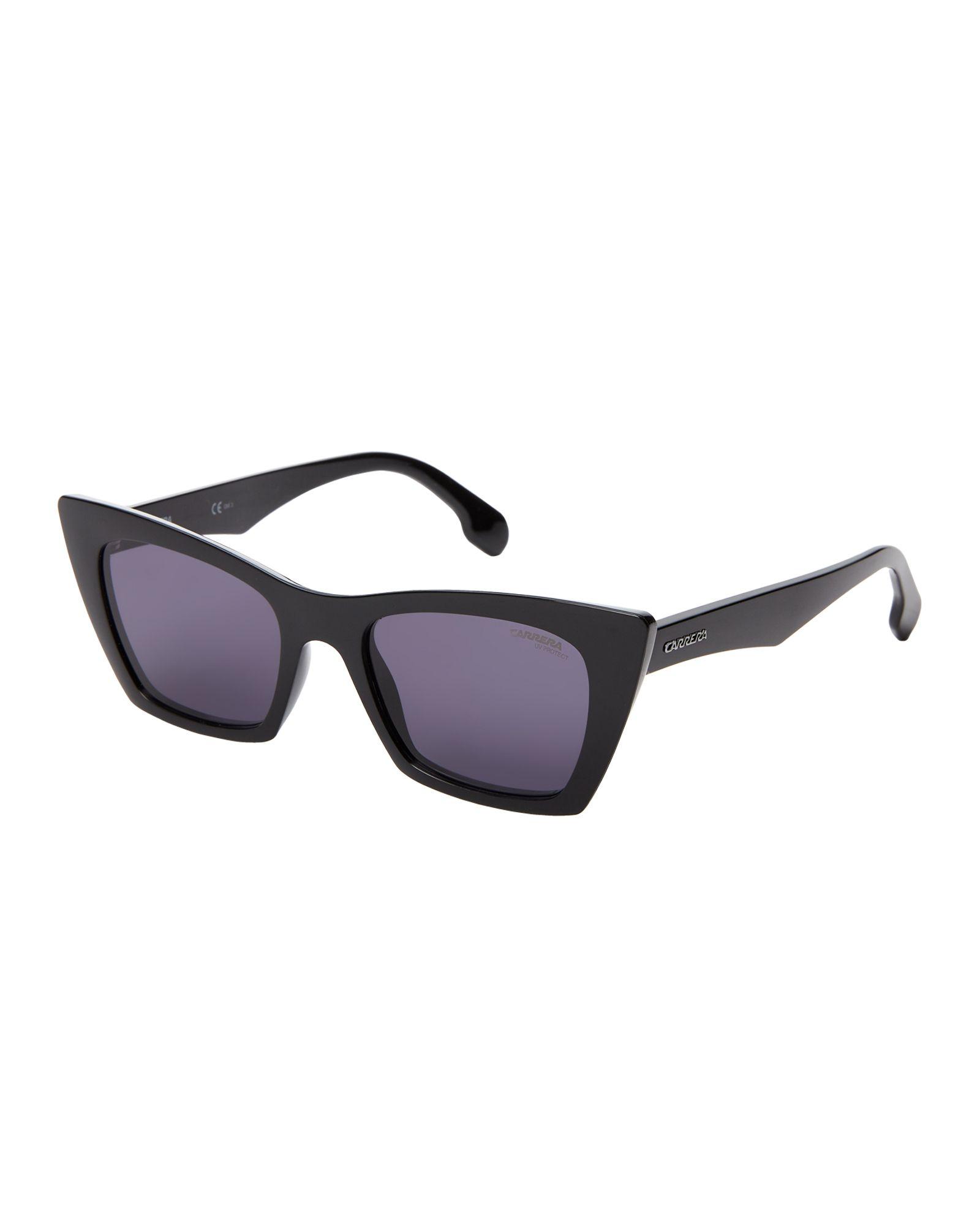 1bc007ec0b718 Carrera 5044 S Black Square Cat Eye Sunglasses