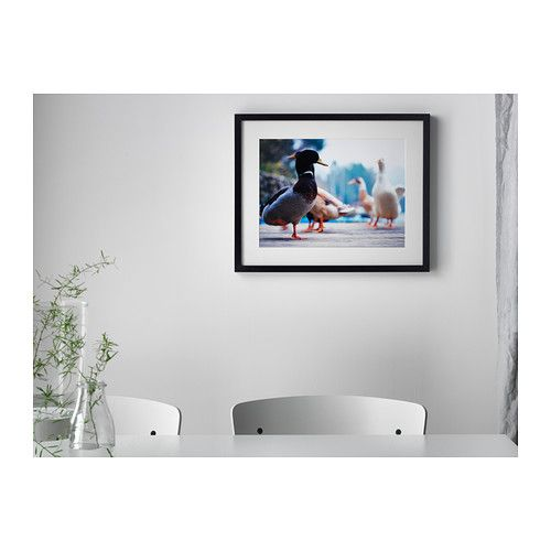 RIBBA Frame, black   New JR Room   Pinterest   Entry hallway ...