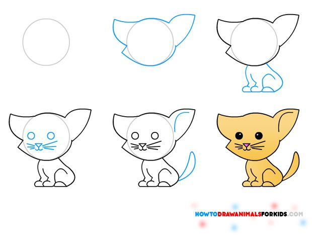 how to draw pets how to draw animals for kids - Easy Drawings For 12 Year Olds