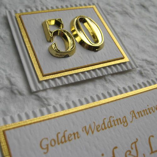 Golden Wedding Anniversary Gift Ideas