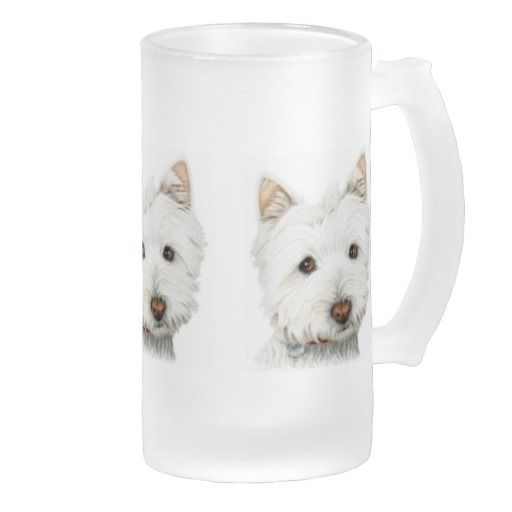 West Highland White Terrier Dog Coffee Mugs
