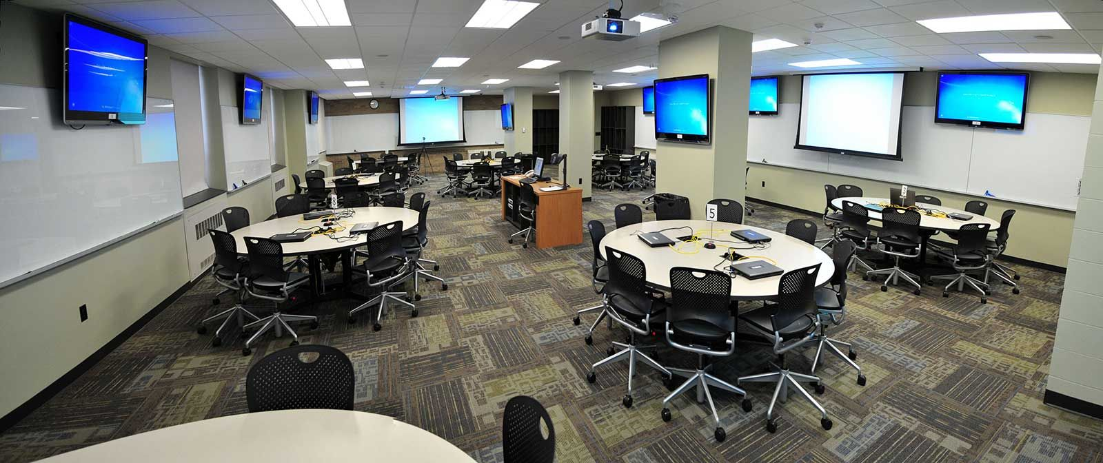 Classroom Design Grants ~ University of iowa active learning space classroom