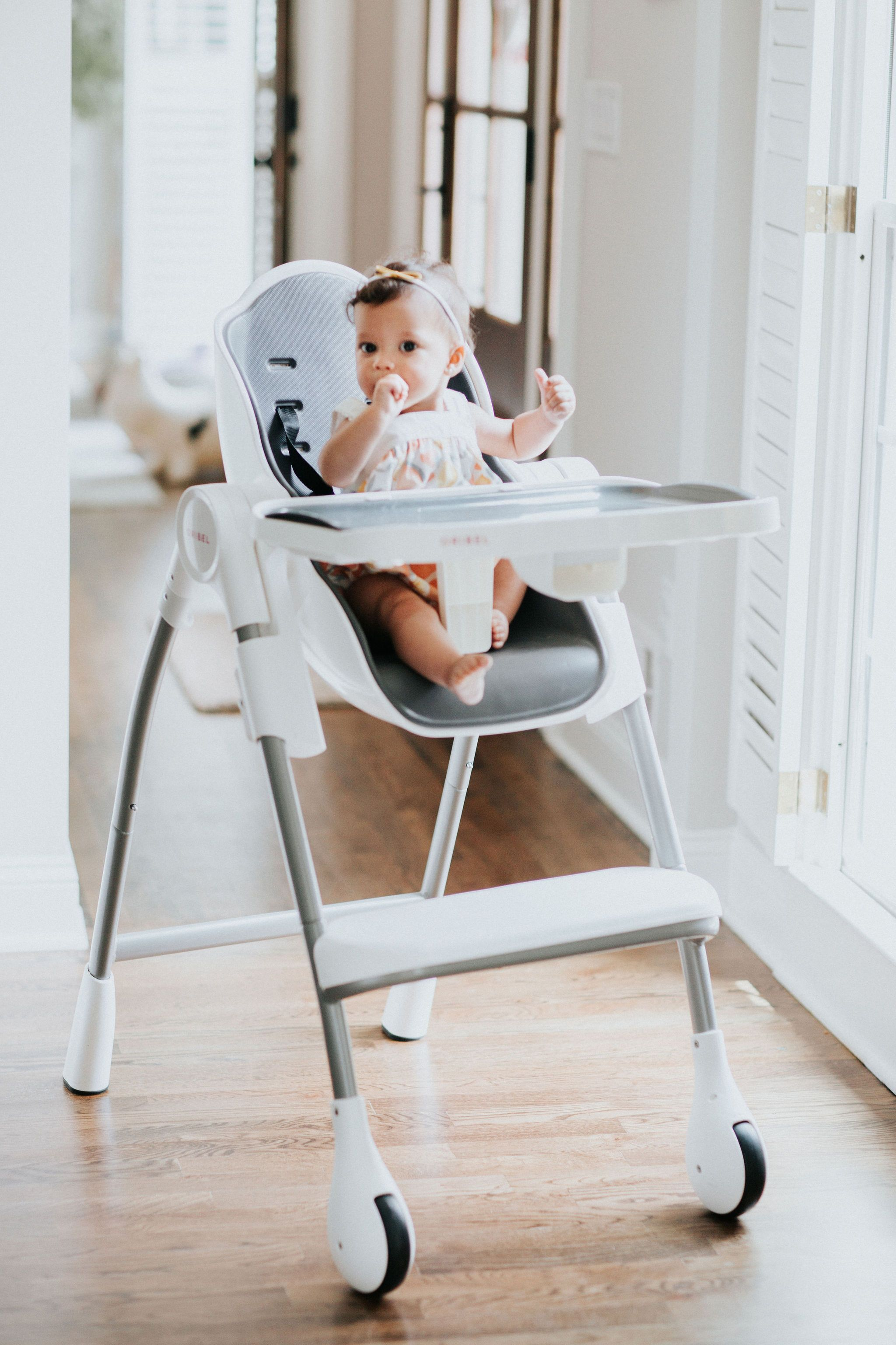 Cocoon High Chair - Slate in 9  Baby high chair, Baby chair, Chair