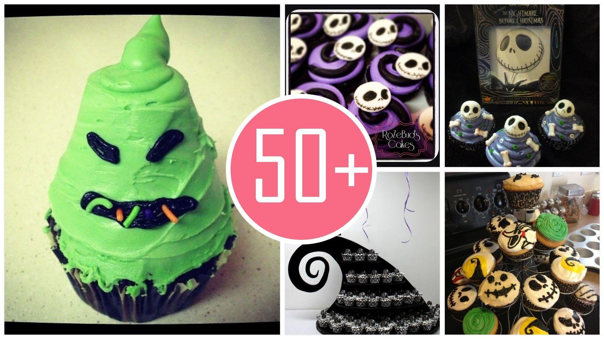 2014 Halloween nightmare before Christmas cupcake ideas that you ...