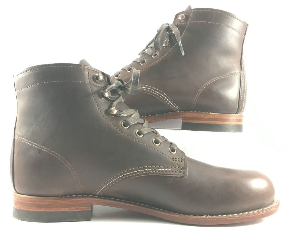 230ff3202f4 Wolverine 1000 Mile Brown Leather Model # W05301 Ankle Boots Mens ...