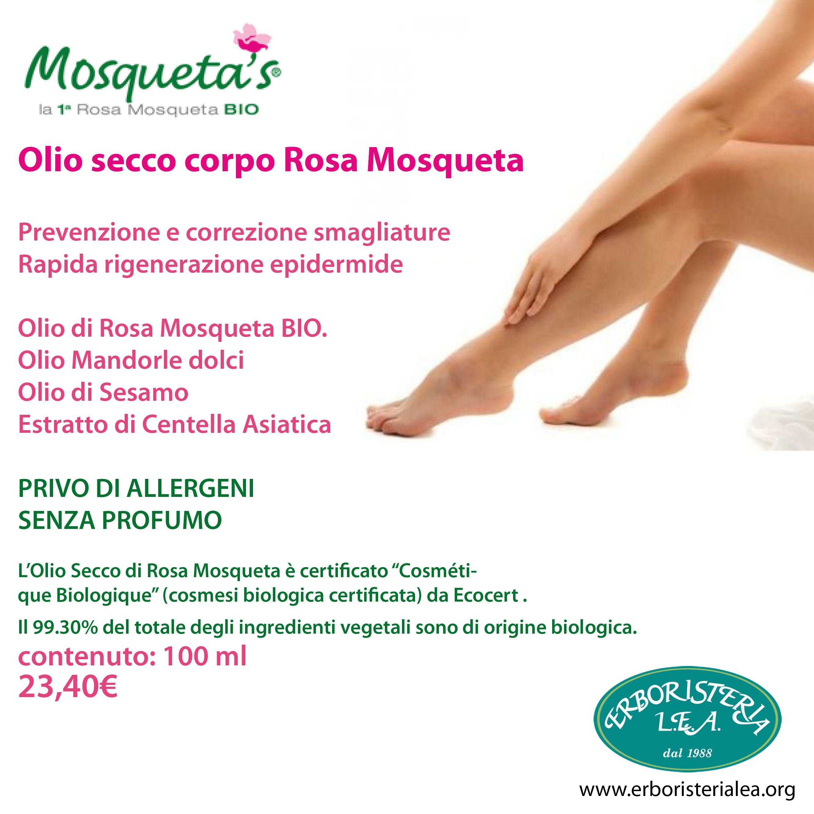 Olio secco corpo Rosa Mosqueta #bellezza #beauty #cosmesi http://goo.gl/bBf6Ry