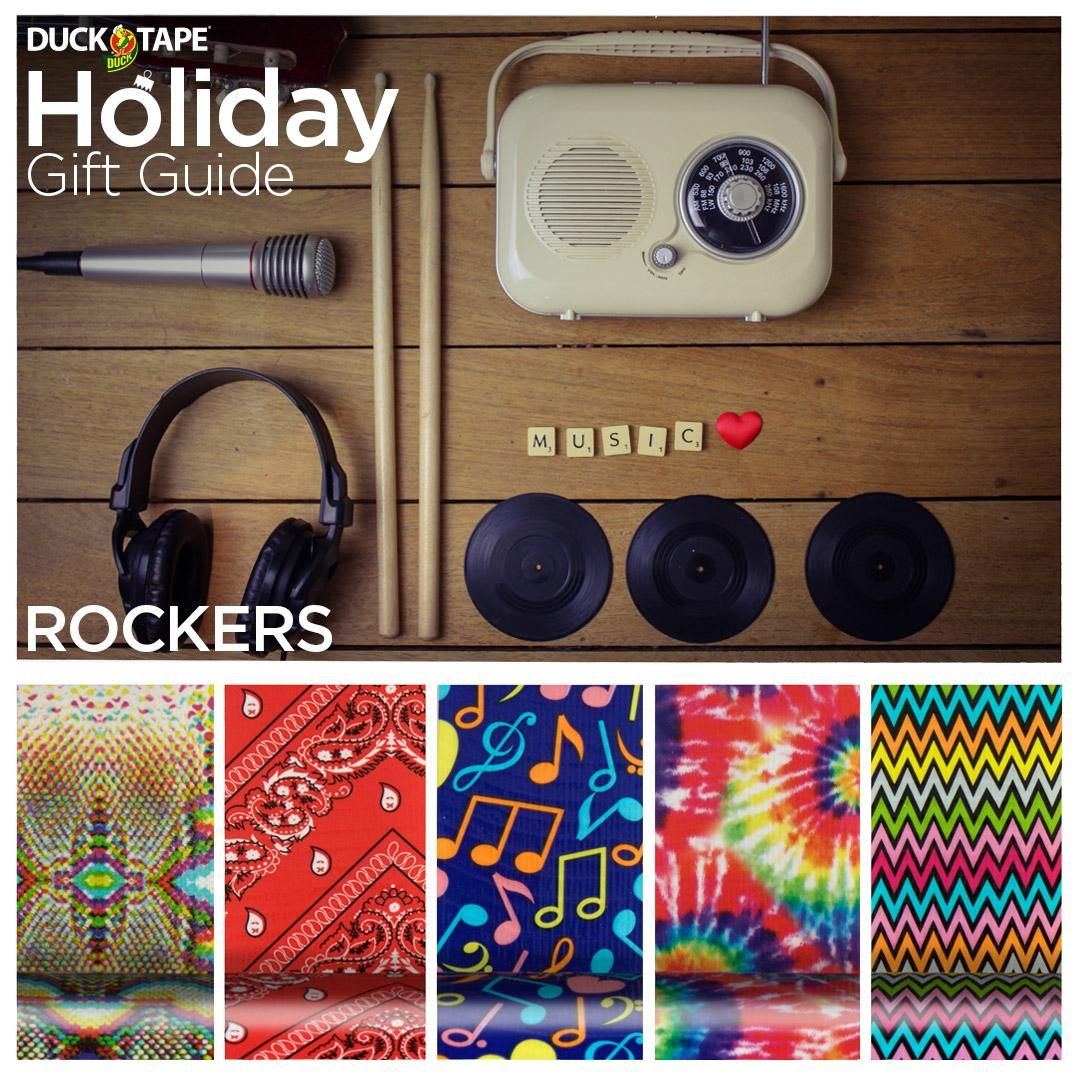 Duck Tape Gifts For Rockers Http://duckbrand