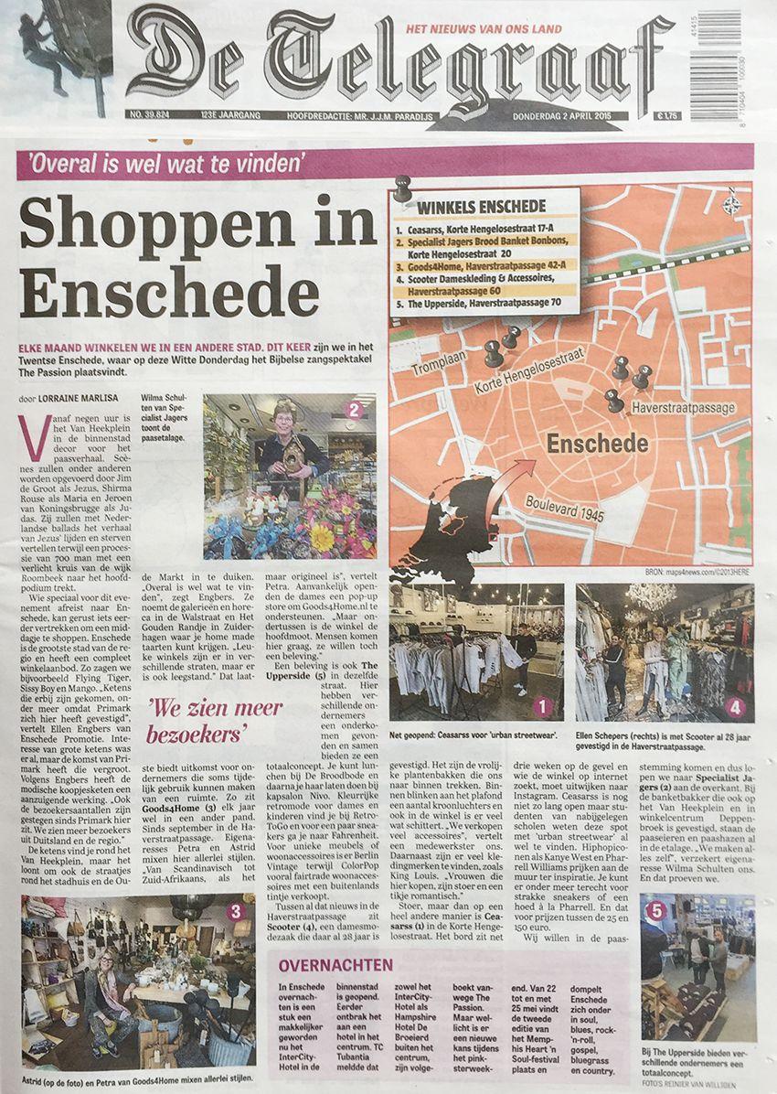 #Scooter #enschede en Haverstraatpassage vandaag in de @telegraaf