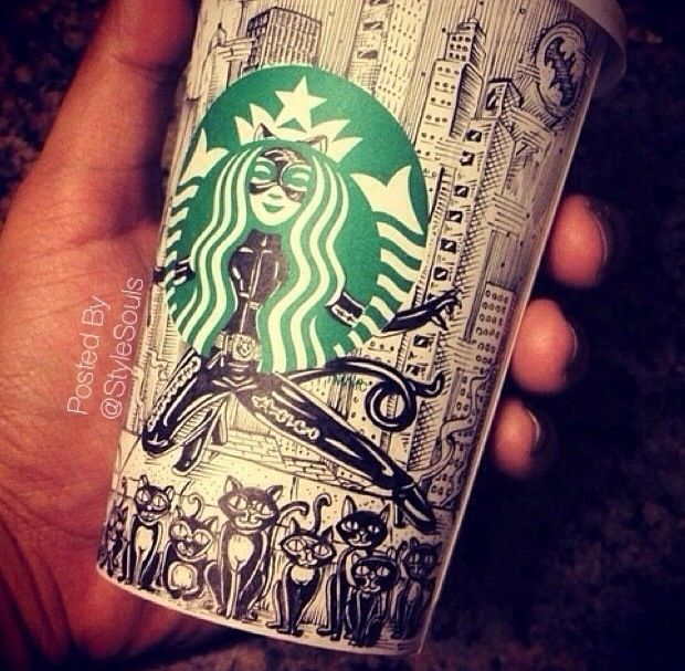 Doodle on your Starbucks cup