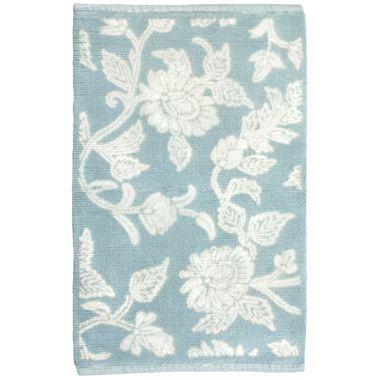For The Bathroom Park B Smith Floral Swirl Bath Rugs
