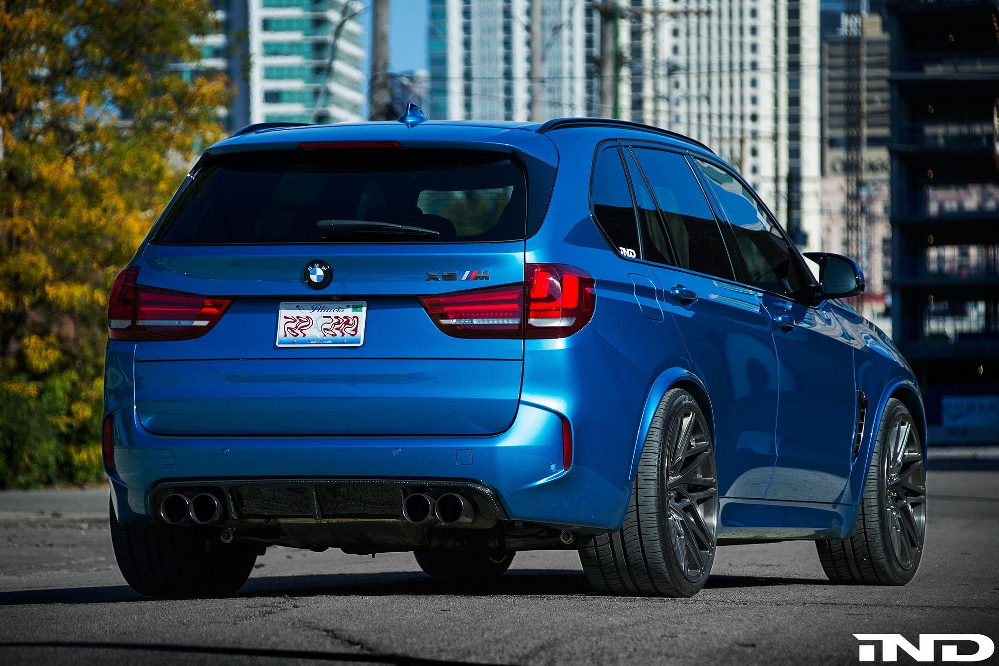 BMW #F85 #X5M #SUV #LongBeachBlue #iND #Tuning #Outdoor