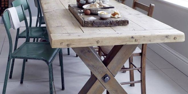I Ve Just Found Reclaimed Timber Country Dining Table This Beautiful Chunky Country Dining Tables Dining Table Dining