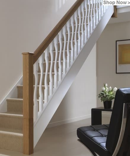 I D Modern Stair Parts In 2020 Parts Of Stairs Oak