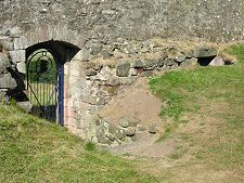 Gate And Old Wall Hume Castle Inspiration For