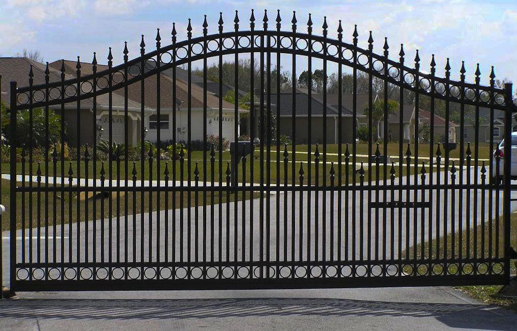 Distributors Of Automatic Gate Openers Elite Aluminum Jerith Aluminum Delgard Bufftech Vinyl Fence Vinyl Arb Fence Landscaping Backyard Fences Estate Gates