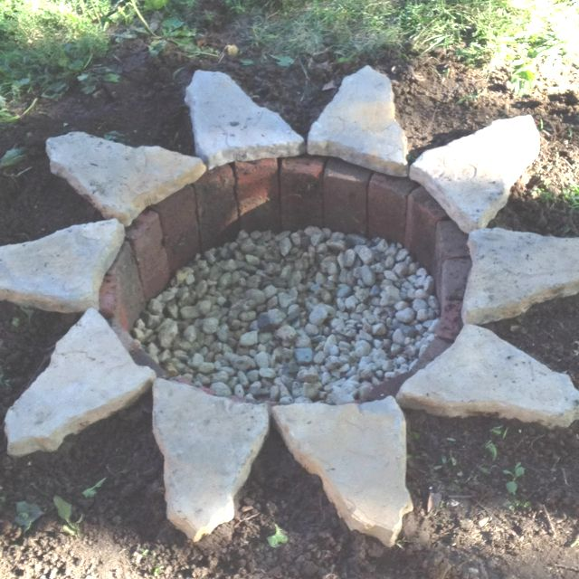 Underground Fire Pit Cost Less Than 50 To Make Fire Pit Backyard Fire Pit In Ground Fire Pit