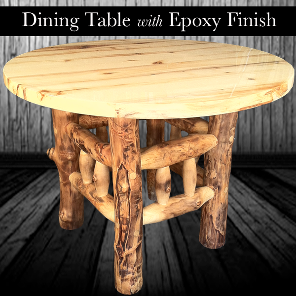 Have you ever wanted to apply epoxy finish to furniture but were unclear how? This tutorial demonstrates how-to apply epoxy finish on an aspen table top.