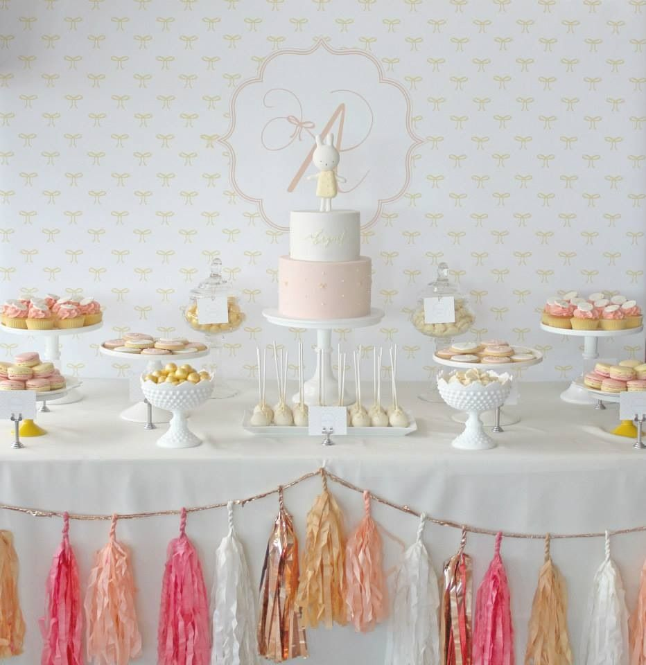 Abigailus christening styled by one lovely day cake and sweet by