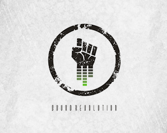 Sound Revolution By Abhishek4198 Music Logo Design Music Logo Logo Design