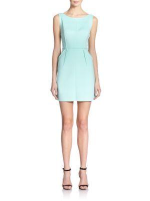2805bd25c03 MILLY Tech Stretch Sheath Dress. #milly #cloth #dress   Milly ...