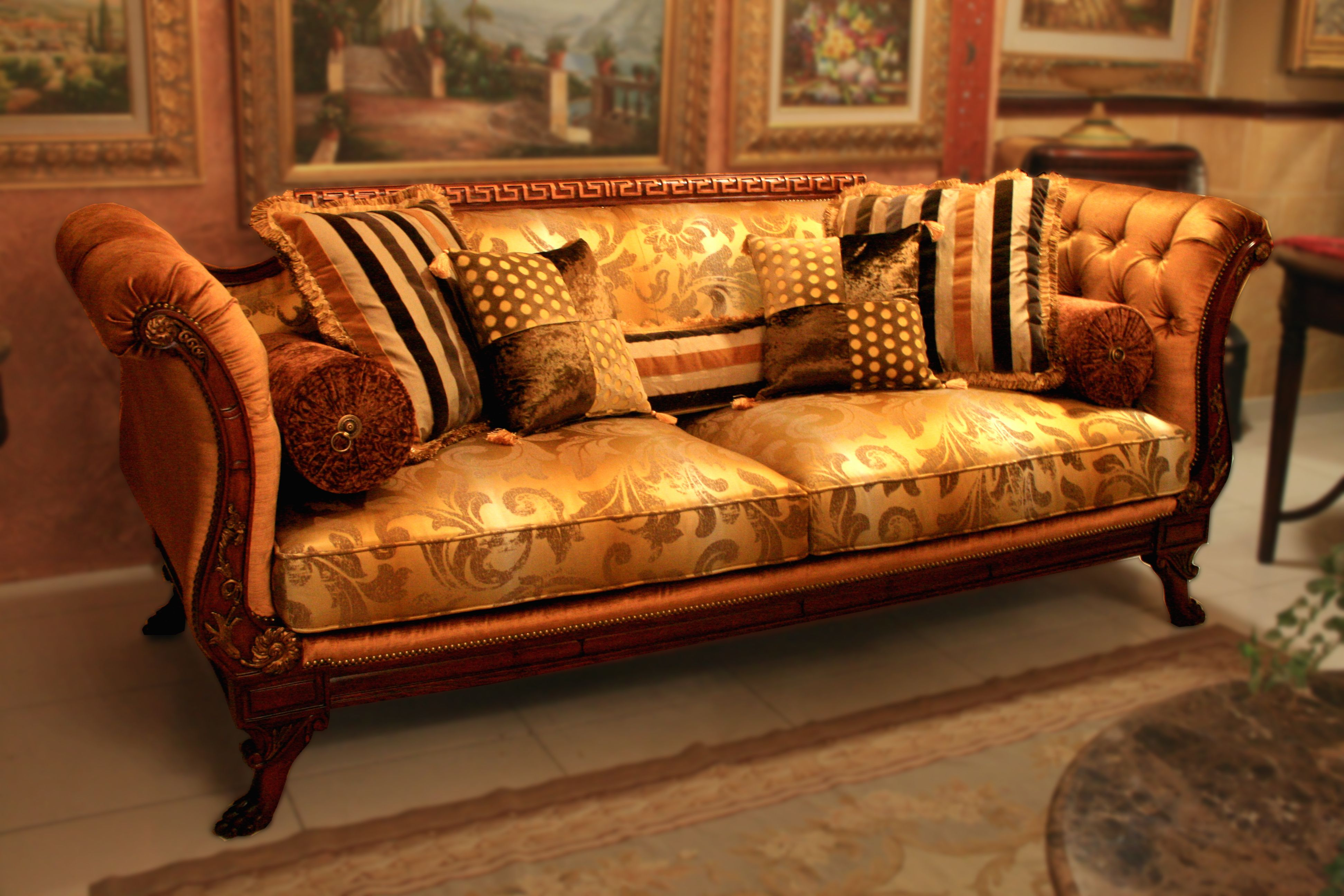 Versace Sofa Sofa Furniture Decor
