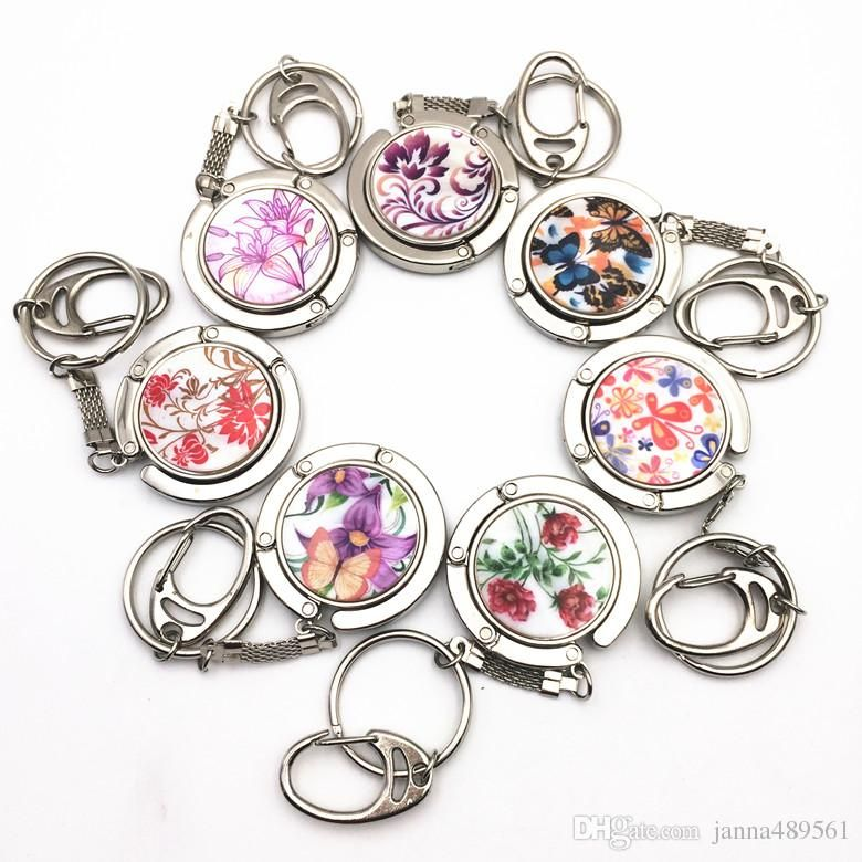 key chain  ring key ring  Women s gift  fashion accessory gift  Folding  Foldable c8415325fa
