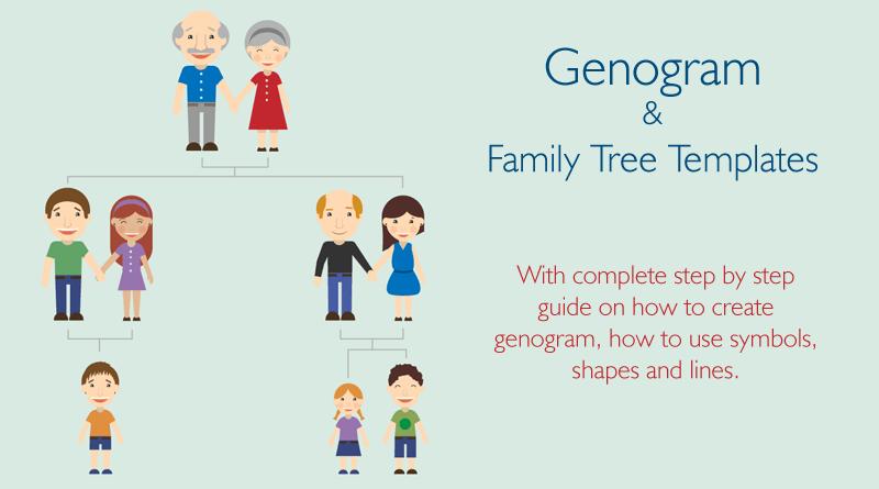 21 genogram templates easily create family charts tree templatestemplates freefamily