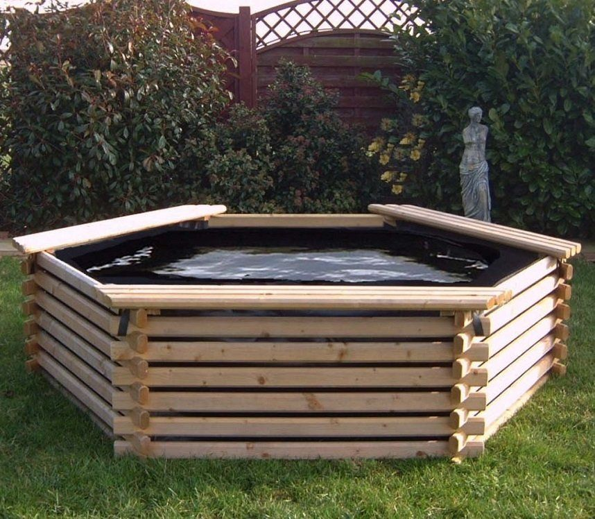 Intalogs 300 Gallon Pool Raised Pond Pond Kits Garden Pool