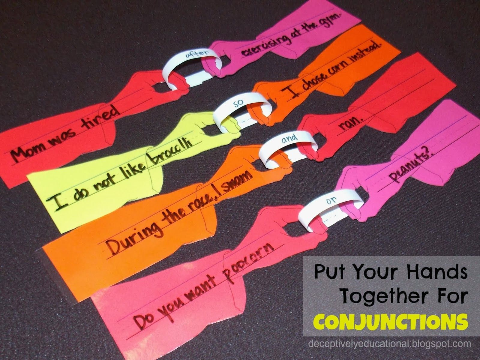 Learning About Conjunctions Free Printables And Ideas