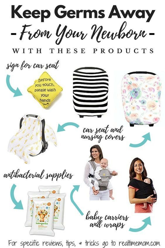 Keeping your newborn safe from germs is so important as a