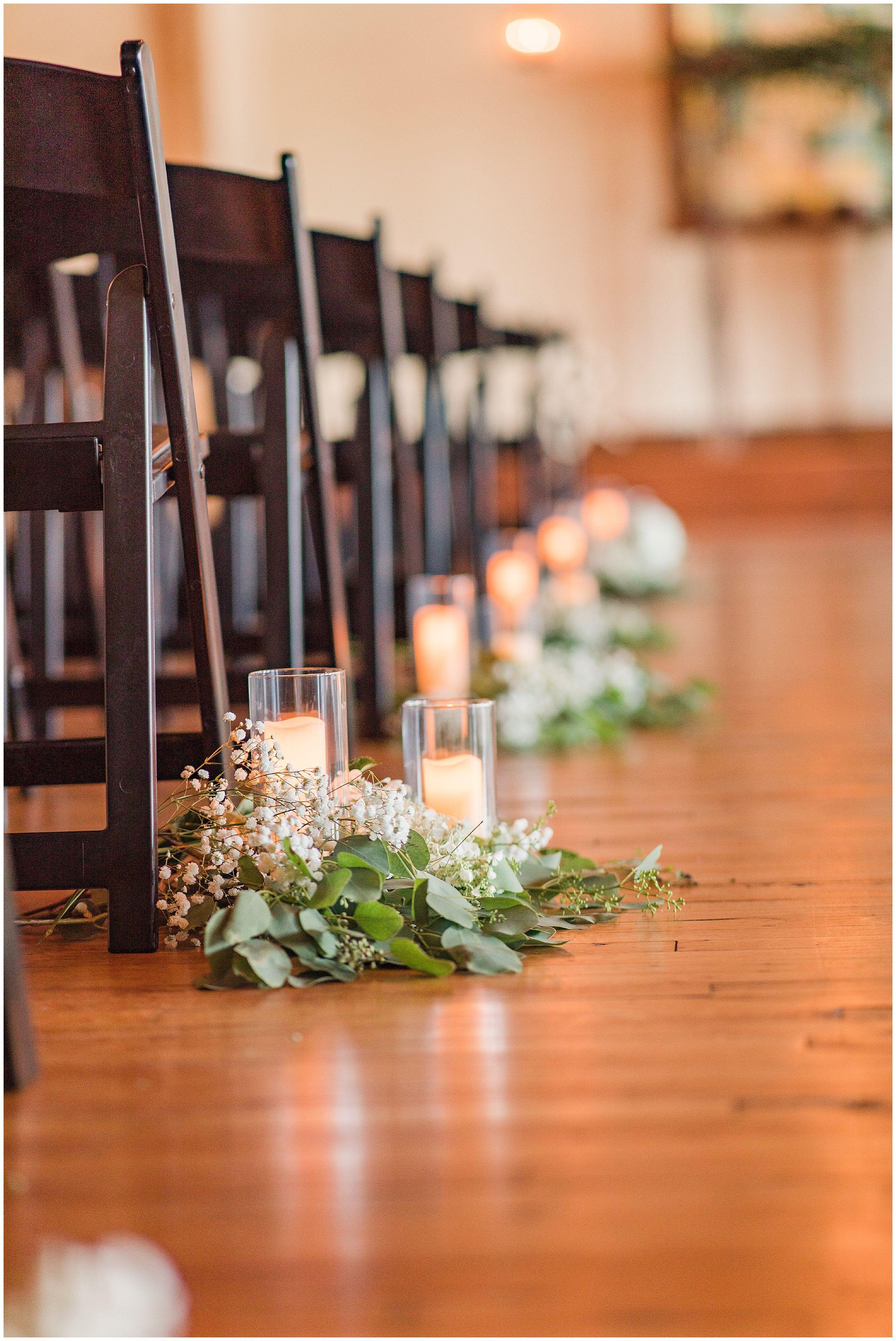 Indoor Flower Aisle l Samantha Malizia Films Rusty Rail
