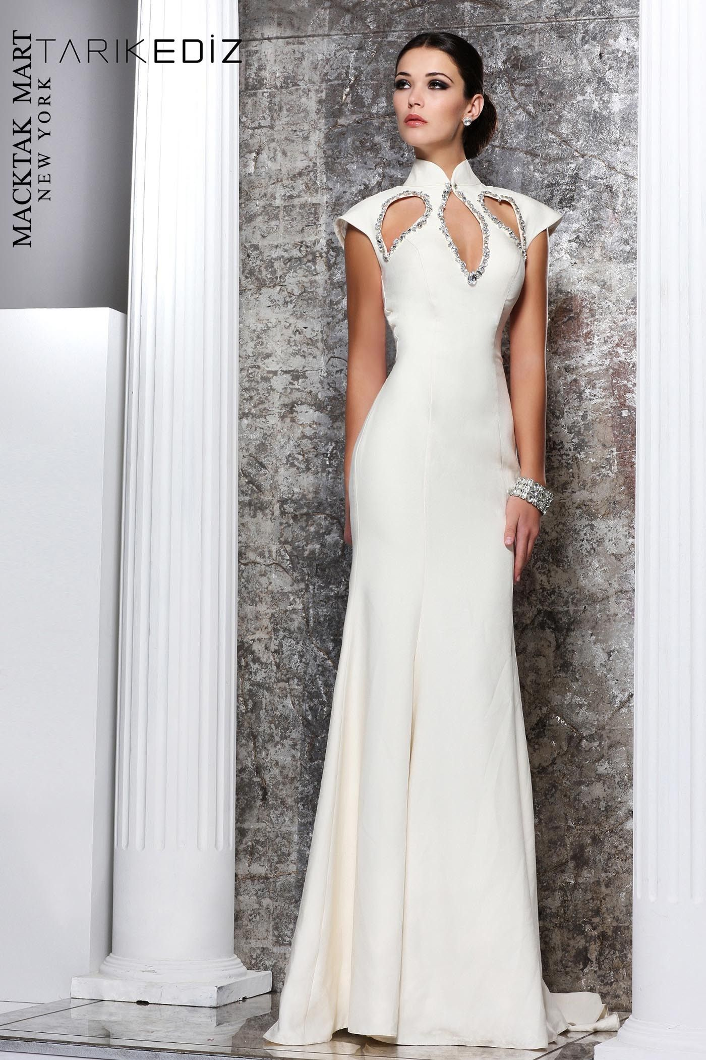 Tarik Ediz 92107 Dress $730.00 | MackTak Wedding Dresses | Pinterest ...