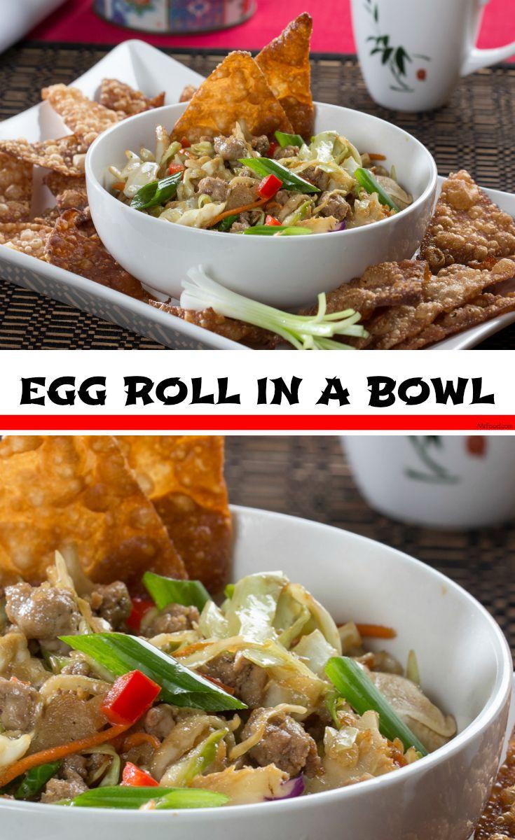 Egg Roll In A Bowl Recipe Beef Casserole Recipes Quick Ground Beef Recipes Ground Beef Recipes Healthy