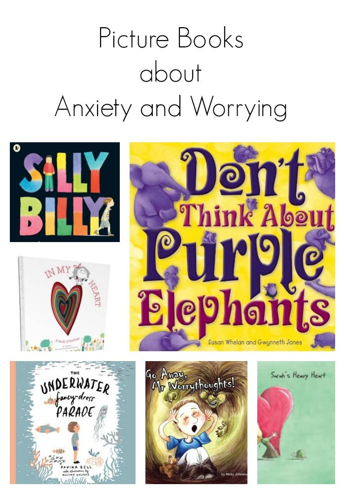 Picture Books About Anxiety and Worrying – Oh Creative Day
