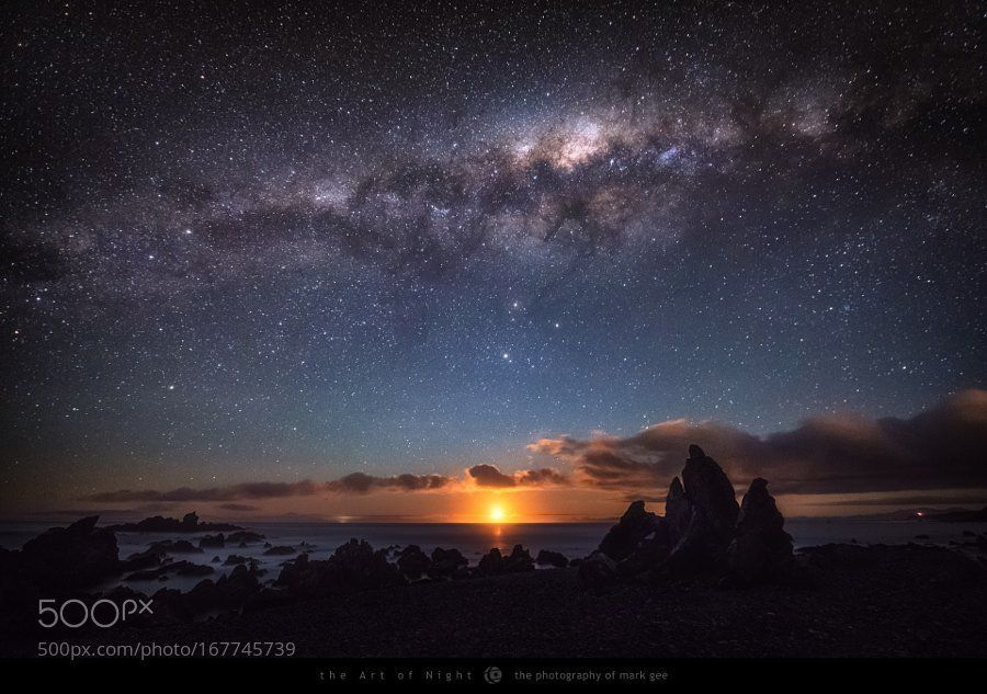 "Randy | Photos on Twitter: ""#Photography | Moonset Under The Stars | #PhotoOfTheDay #Travel #Photo  https://t.co/f7kXJZA0MT"
