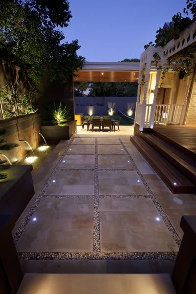Claremont residence by the Garden Light Company For the Home