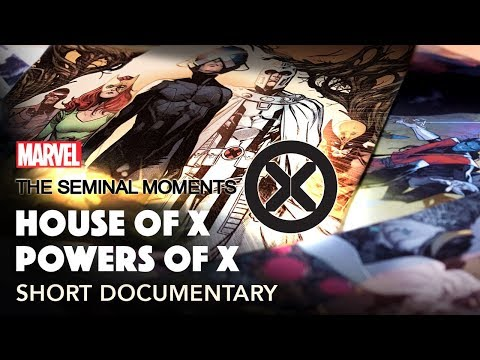 The Future Of The X Men Jonathan Hickman S X Men Seminal Moments Part 5 Youtube In This Moment X Men Hickman