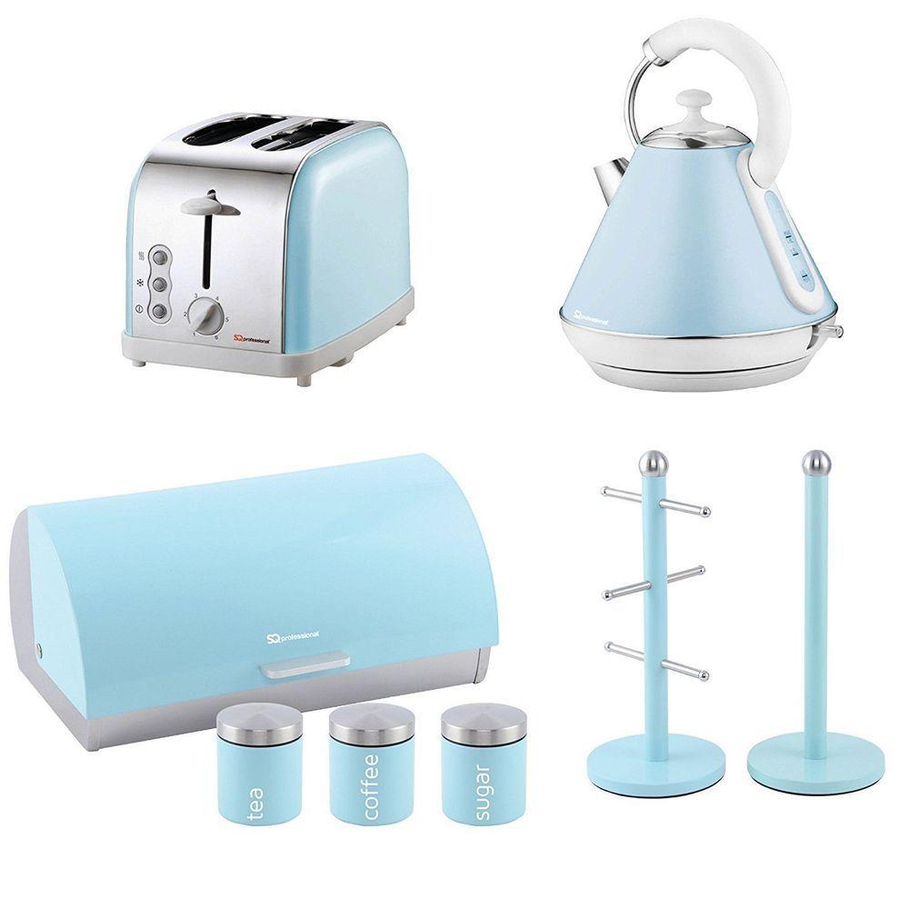 SQ Professional Cordless Kettle Hot Coffee Tea 1.8L 2200W Sapphire Blue