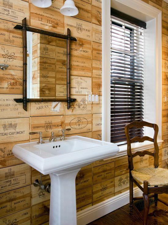 Vineyard Crate Walls