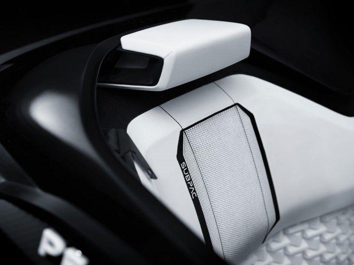 Peugeot Fractal Concept Interior Seat detail